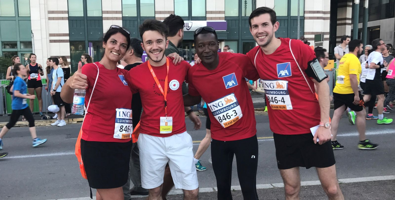Team Run AXA ING Marathon 2017